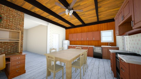 Kitchen Before - Country - Kitchen  - by KitchenFirUs