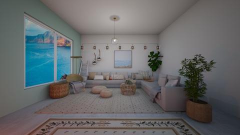 Natural Glo - Modern - Living room  - by evabarrett
