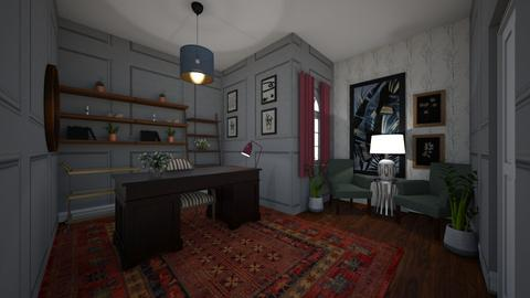 home office - Office - by claire05