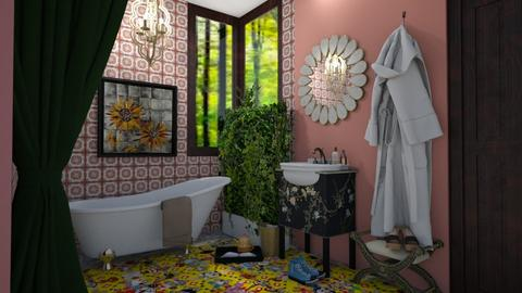eclectic bath - Eclectic - Bathroom - by 11Kay11