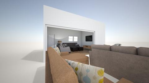 Aubrey Petersen - Living room  - by eabeckett
