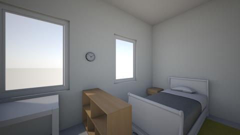 smart teenage bedroom - Bedroom  - by milahelsen