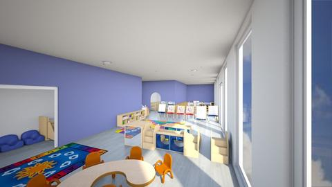 daycare  - Kids room  - by cowplant_4life