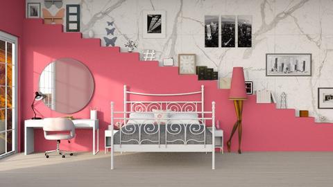 Rose Template - Feminine - Bedroom  - by mydreamjob25