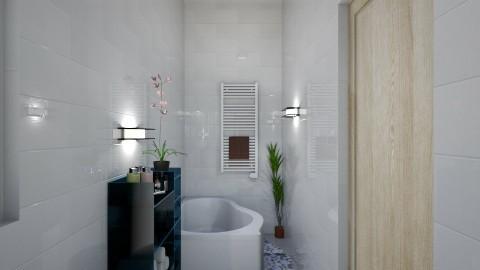 2d bathroom - Minimal - Bathroom  - by suomi25