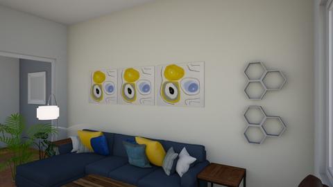 Alice Bennet LivDin 2 - Modern - Living room  - by CaroTivityArts
