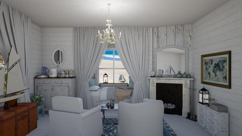 cozy seaside bedroom - by fippydude
