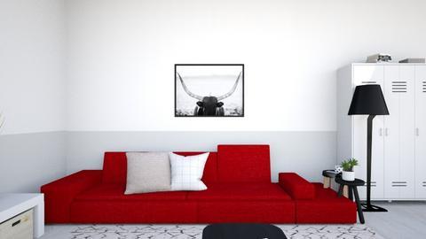 Fancy Living Room - Modern - Living room  - by John9110