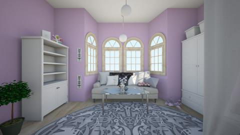 Teenage Girl Room 2 - Bedroom - by Olga Kluk