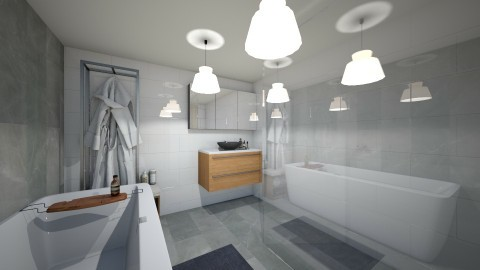 My bathroom 1 - Modern - Bathroom - by tillsa98