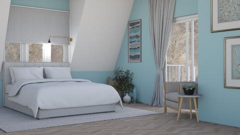 light blue_4 daisy_belle - Bedroom  - by Adelaide8