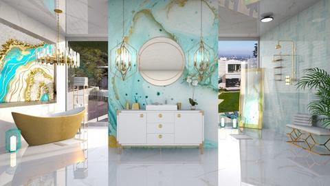 BLISSFUL BATH - Modern - Bathroom  - by RS Designs