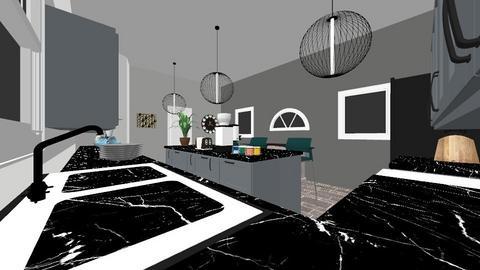 a kitchen design for mum - Kitchen  - by DaviesC