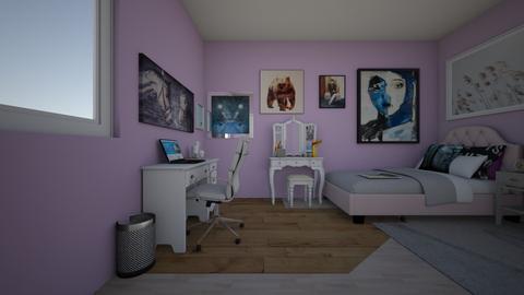 yo mio desde la puerta - Bedroom  - by Abi777