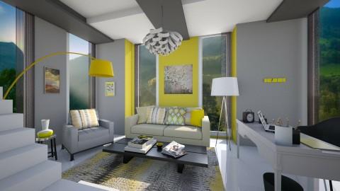 office1 - Modern - Office - by yasamanmahmoodi