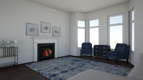 blue room  - Living room  - by ameliadeloye651