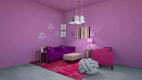 PP Living Room - Living room  - by RoseGrangerWeasly