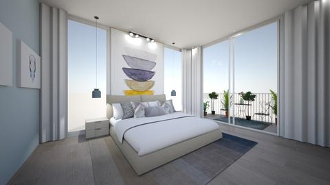 city - Bedroom - by igell90