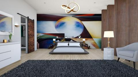 Okeeffe Bedroom - Modern - Bedroom - by Nina Colin