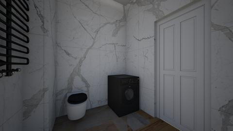 Lazienka G - Bathroom  - by Kasia1102
