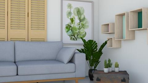 Botanical living - Minimal - Living room  - by DemiGirl9