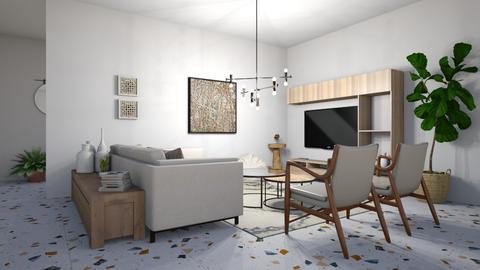 46 1 - Living room  - by Lia Malhi