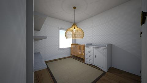 Fedor kamer 1 - Kids room  - by Chandraliu