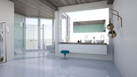 Peace - Modern - Bathroom  - by rcrites457