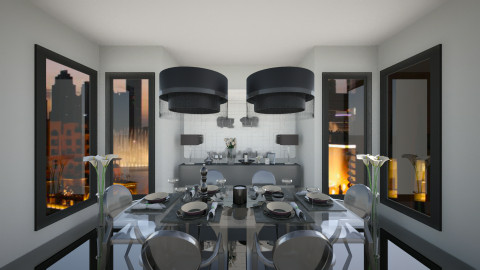 metal - Modern - Living room - by Anastasia Baier
