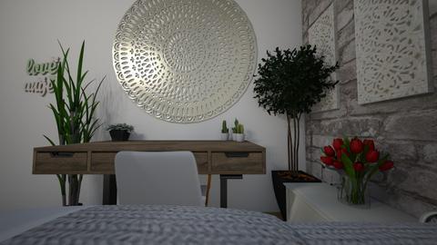 my room - Modern - Bedroom  - by superstart29