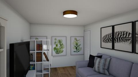 living room A - Modern - Living room  - by NataMasl