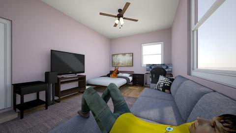 jacksons room - Bedroom  - by jackson macneil