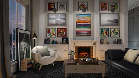 Loft du Connaisseur - Living room - by Vie Confortable