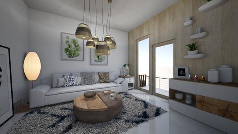 K - Living room  - by Xenia Jones