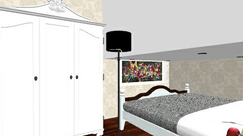 mits. - Bedroom - by ZoeKarachaliou_