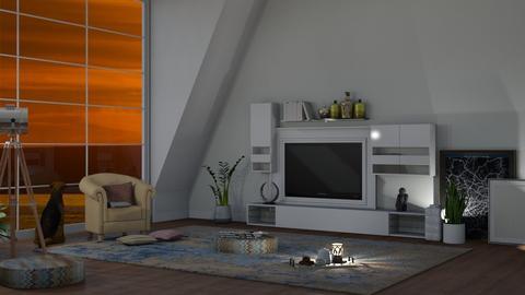 MINIMALISM  - Living room  - by nat mi