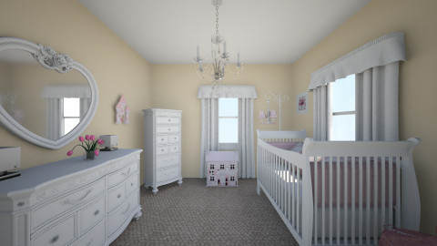 J Nursery  - Glamour - Kids room  - by daisies4u2