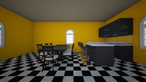 Checkers - Kitchen  - by Sugarpie