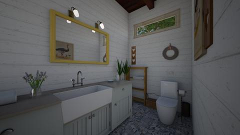 county bath  - Country - Bathroom  - by Netalie Treistman Ben Zaken