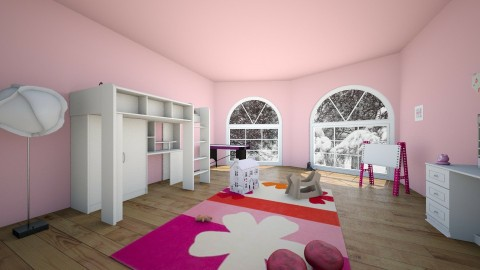 Little Girls Room - Glamour - Kids room  - by Indiee