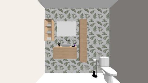 MNGT 315 - Bathroom  - by josieefisher