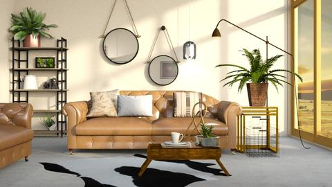 Urban Blush - Modern - Living room  - by Gurns