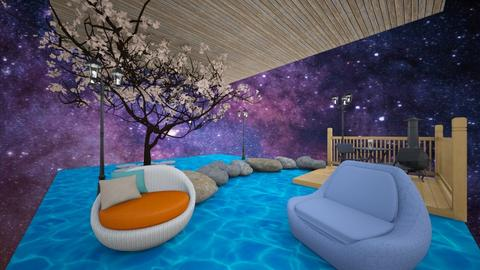 floating - Garden  - by MOOG