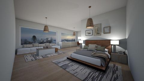 Bedroom - Modern - Bedroom  - by JulianaRolon
