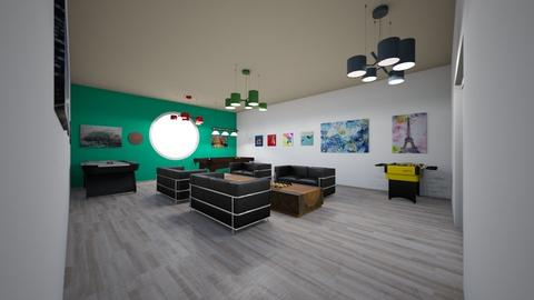 Youth Centre Games Room - Eclectic - by AB0505