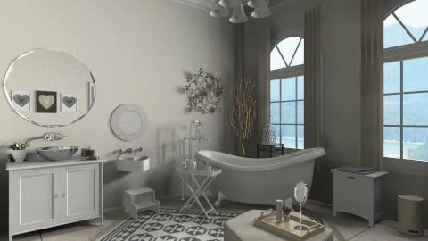Vintage Bathroom - Vintage - Bathroom  - by emmaaab