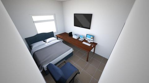 Benja Habitacion 1 - Bedroom  - by Izaac_21