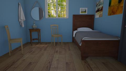 Art bedroom - Bedroom  - by llamaperson