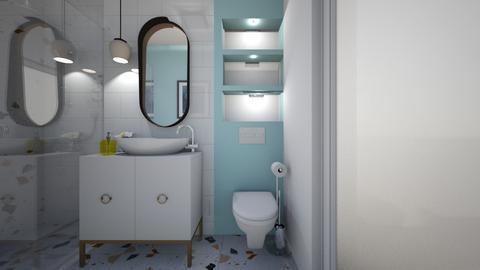Maria Mustata - Bathroom - by Flori Santa
