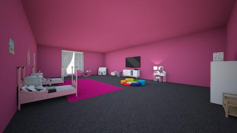 Taria and Tanijas Room - Glamour - Kids room  - by Cierra Royale